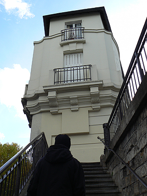 avenue Reille, escalier