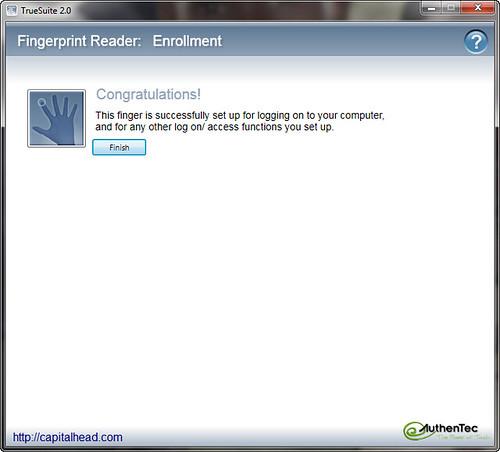 Enable Logon Using Biometric Fingerprint Reader in Windows 7