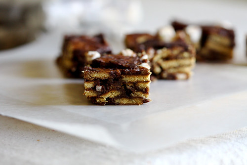 S'mores Icebox Candy Bars