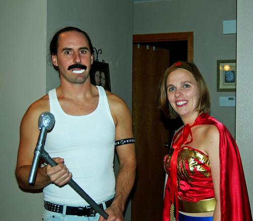 Freddie Mercury and Wonder Woman