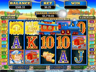 free Loose Caboose slot bonus game