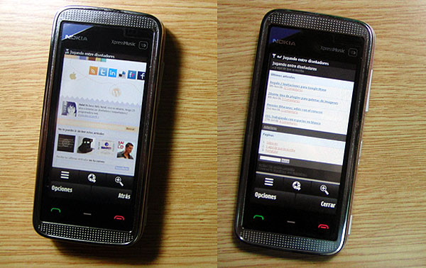 Adaptando el blog al móvil