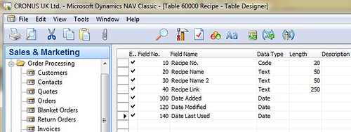Field Numbering in Dynamics NAV