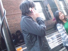 Dan on someones phone (izuhbelluhh) Tags: sf slims danyoung