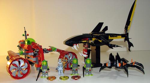 LEGO Atlantis - 8060 8058 8056