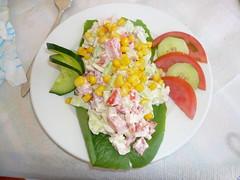 antipasto (A.M.F.G) Tags: grecia colori cibo vacanza antipasto insalatarussa