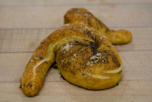 sweet soft pretzel