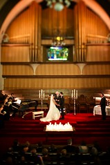 B&G tilt shift (Drew Gregory Photography) Tags: wedding red love church carpet groom bride pipe ceremony shift marriage organ tilt alter ts bg