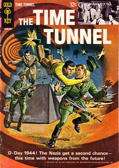 The Time Tunnel Comic Book (modern_fred) Tags: sciencefiction 1960s irwinallen jamesdarren thetimetunnel dougphillips tonynewman robertcolbert