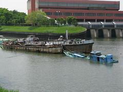 Blue boat (schntm) Tags: japan bd1 birdy rm