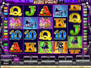 The Rat Pack slot game online review