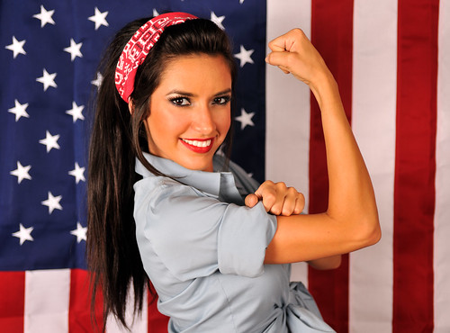 modern rosie the riveter