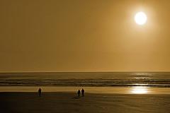 Crowded Beach………