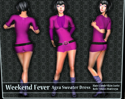 weekend fever Ilaya Agra Sweater dress