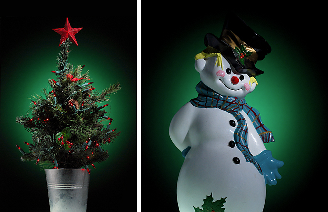 Holiday diptych