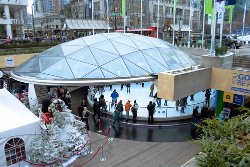 Robson Square et patinoire