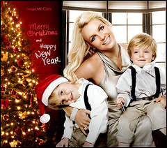 Britney And Kids - Merry Christmas and Happy New Year (Mr. Carls) Tags: christmas new love me thanks by kids photoshop de happy james design site all mr spears edited thing web year imagens carlos s sean best every h singer preston they merry jayden omg britney fell henrique carls 2010 edio
