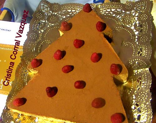 tarta arbol de navidad