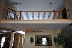 Heide stair after (jusaldastairs) Tags: wood metal iron stair stairway makeover ironwork remodel upgrade homeimprovement