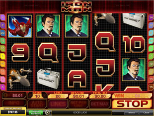 Iron Man slot game online review