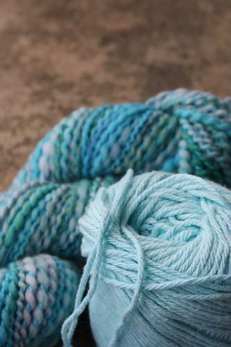 Colour + Colour Week 10: Tan and Aqua