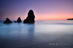 Last Glow @ Rodeo Beach (Gary Ngo | Photography) Tags: california longexposure sunset seascape beach rock nikon filter nd sausalito hitech rodeobeach gnd marinmagazine d7000 patricksmithphotography