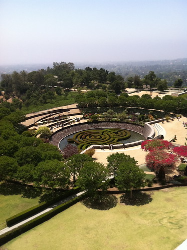 gardens at the Getty Center