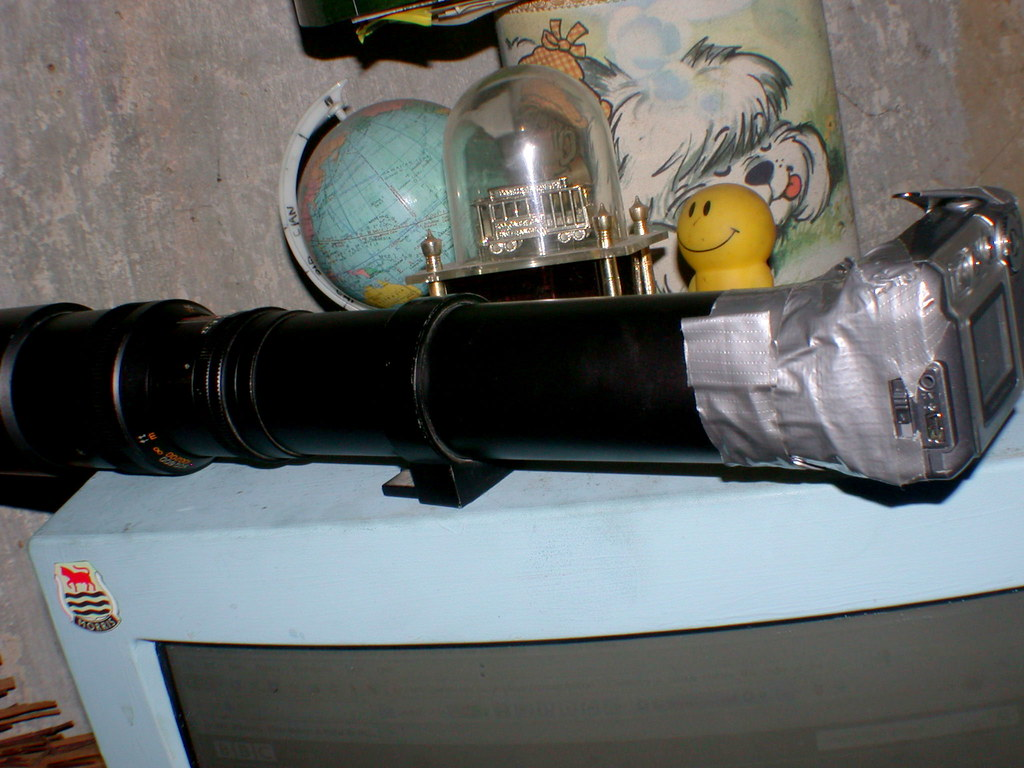 500mm SLR lens