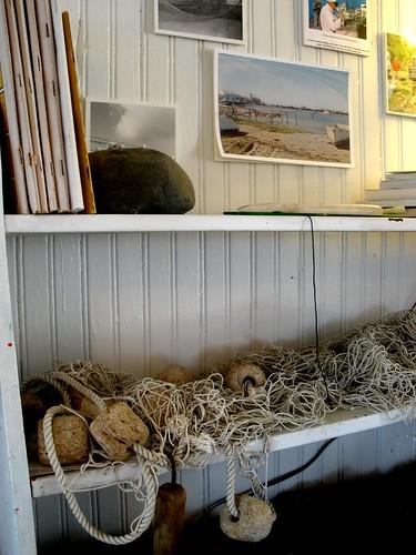 museum shelf