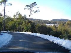 Cradle Mountain (Simon Kline) Tags: sun snow waterfall tasmania boardwalk bushwalk cradlemountain