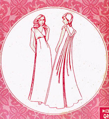 PP3079Gallery (sandritocat) Tags: train vintage clothing pattern dress patterns 8 size empire tulip hawaiian 16 1960s collectible supplies miss pacifica sleeves muu