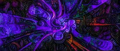 Artificial Fallopian Tubes (Steve Taylor (Photography)) Tags: alien artificial tubes fallopian art neon violet