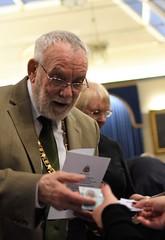 Mr Mayor Placing his Bet