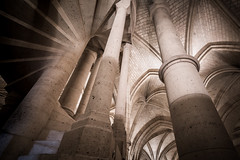 Medieval Design (McQuaide Photography) Tags: paris france french républiquefrançaise iledefrance europe sony a7rii ilce7rm2 alpha mirrorless 1635mm sonyzeiss zeiss variotessar fullframe mcquaidephotography adobe photoshop lightroom tripod manfrotto light availablelight city capitalcity urban indoor inside interior architecture building wideangle wideanglelens shape form pov angle famous landmark old oldbuilding conciergerie îledelacité medieval halloftheguards history historical column arch pillar longexposure