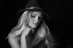 Gabby_HouseCatStudio-11_B&W (HouseCatStudio) Tags: blond gabby headshoot portrait