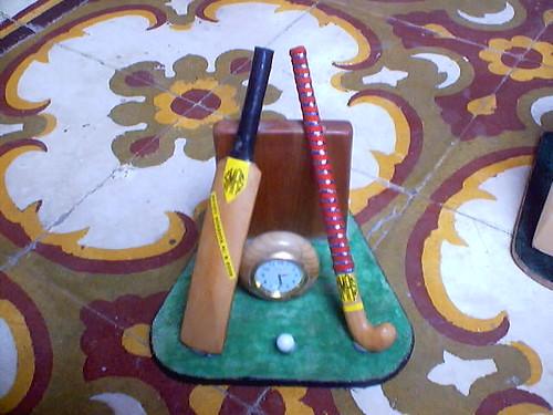 cricket bat ball. Hockey,Cricket Bat Ball Analog