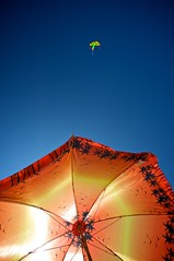 Beach Umbrella and Kite