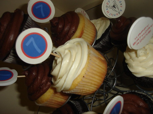 CWBD Signature Cocoa & Cream cupcakes