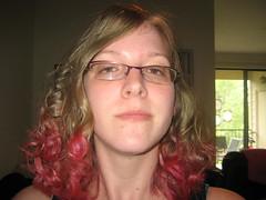 Pink curly tips! (RobinGirl) Tags: ragcurls manicpanicredpassion