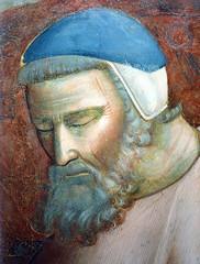 Giotto - Il papa sogna San Francesco che sostiene il Laterano (detail)