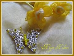 Daffodil (nigarhikmet) Tags: flowers flower butterfly beads handmade embroidery daffodil ribbon elii ribbonembroidery beadswork kurdela silkribbonembroidery ribbonwork ribbonflowers akyaz kurdele sulampita bndchenstickerei kurdelenakisi kurdelanakisi ribbondaffodil kurdelenak broderieruban zijdelintborduren bordurenmetlintgaren szalaghmzs   fitabordado bordadodecinta  sulamanpita     kurdelenergisiei ribbonsilkembroidery nergisiei