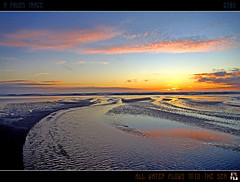 All Water Flows Into The Sea (tomraven) Tags: ocean sunset sea newzealand sky sun beach clouds reflections geotagged interestingness stream surf dusk estuary explore frontpage rivermouth july7 otakibeach explorefrontpage mywinners explorefp theperfectphotographer tomraven geo:lon=175122328 aravenimage q309 geo:lat=40726251
