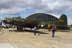 G-BEDF - 41-24485 - B-17 Preservation Ltd - Boeing B-17G Flying Fortress - 090713 - Duxford - Steven Gray - IMG_0948