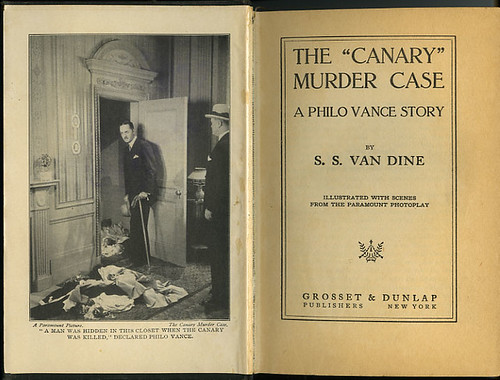 "The ""Canary"" Murder Case_frontispiece_title pg_tatteredandlost"