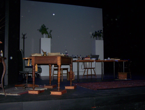 Stage for Re:Design at the ADC Theatre, University of Cambridge