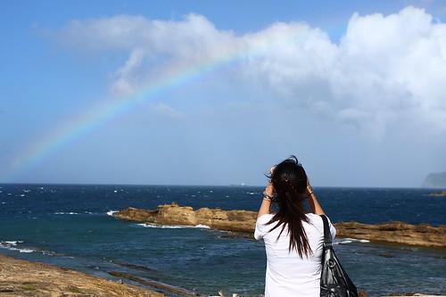 難道,妳不期待看見彩虹嗎?