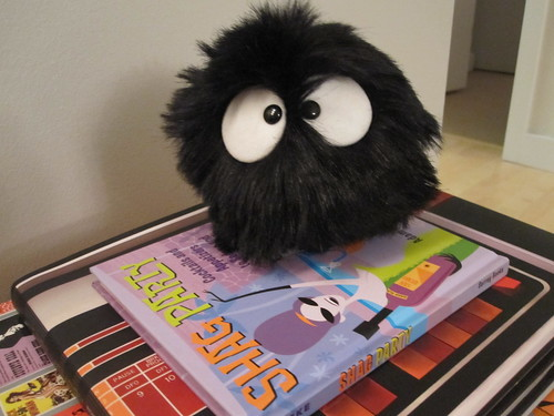 Soot ball likes to read