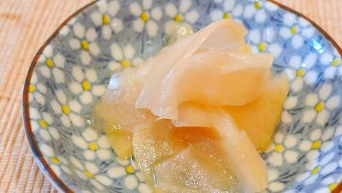 根生姜の甘酢漬け