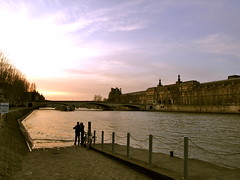 strolling along Seine river (young_stupid) Tags: paris france laseine