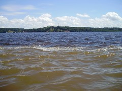 Encontro das guas dos rios Negro e Solimes (Wilmar Santin) Tags: brazil brasil am amazon brasilien amazonas brsil amazonia rionegro amaznia amazone amazzonia rioamazonas amazonien riosolimes